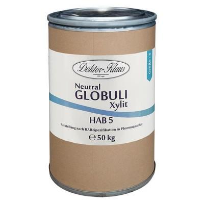 Xylit Roh Globuli HAB5 50kg