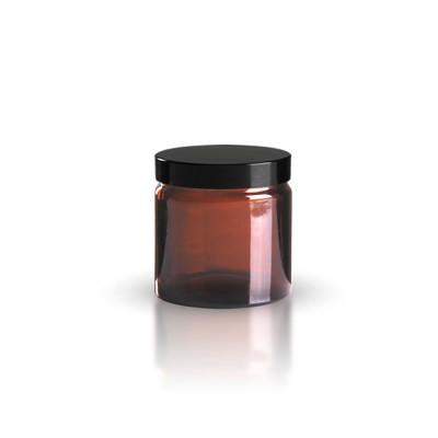 Glastiegel braunl 60ml