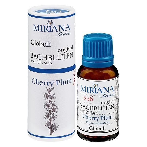 Cherry Plum Bachblüten Globuli (Kirschpflaume) 20g