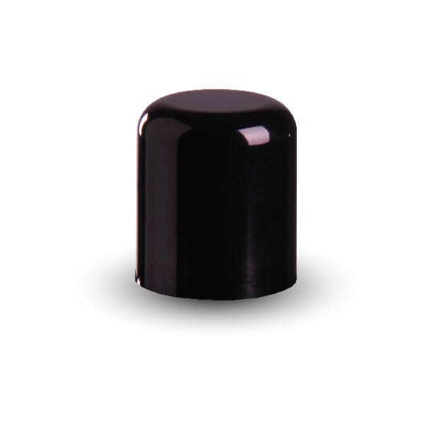 Schraubverschluss schwarz mit Dichtung GCMI410/24