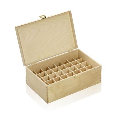Holzbox Birkenholz für 30ml Flaschen