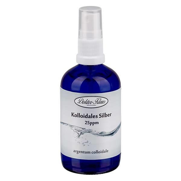 100ml Kolloidiales Silber, Blauglas, Spray