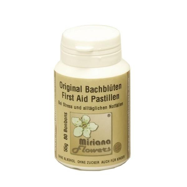 55g Bachblüten Pastillen/Bonbons Nr.39 + Kapselbox