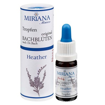 Heather Bachblüten (Schottisches Heidekraut) Essenz 10ml