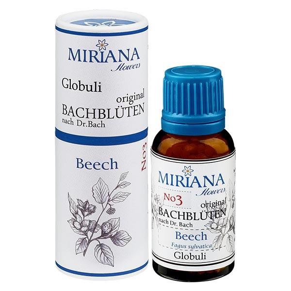 Beech Bachblüten Globuli (Rotbuche) 20g