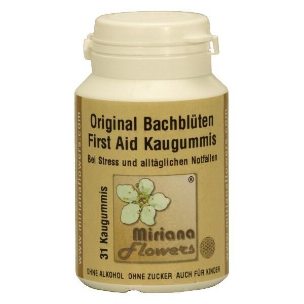 53g Bachblüten Kaugummis + Kapselbox