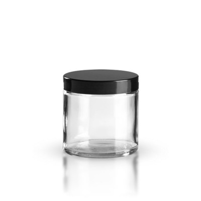 Klarglas Glastiegel 120ml