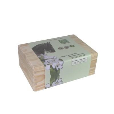 20ml Bachblüten Set für Tiere + Holzbox
