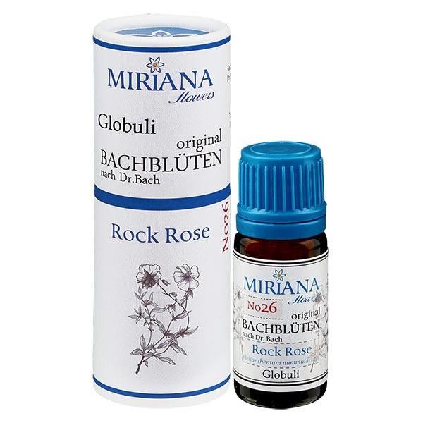 Rock Rose Bachblüten Globuli (Gelbes Sonnenröschen) 10g