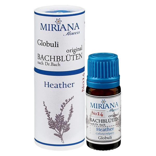 Heather Bachblüten Globuli (Schottisches Heidekraut) 10g