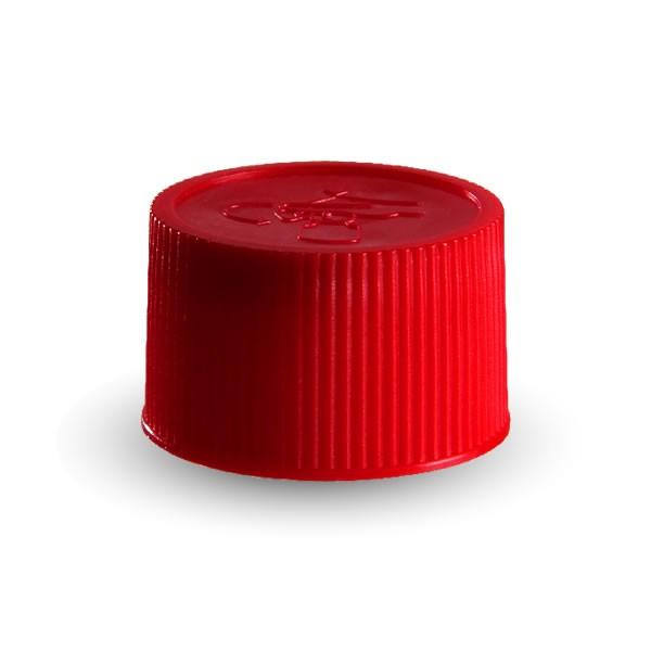 Schraubverschluss rot ND25 mit Kindersicherung