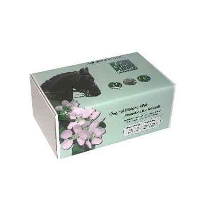10g Bachblüten Globuli Set für Tiere im Karton