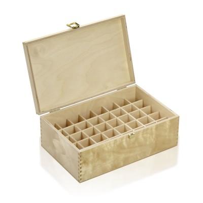 Holzbox Birkenholz für 20ml Flaschen