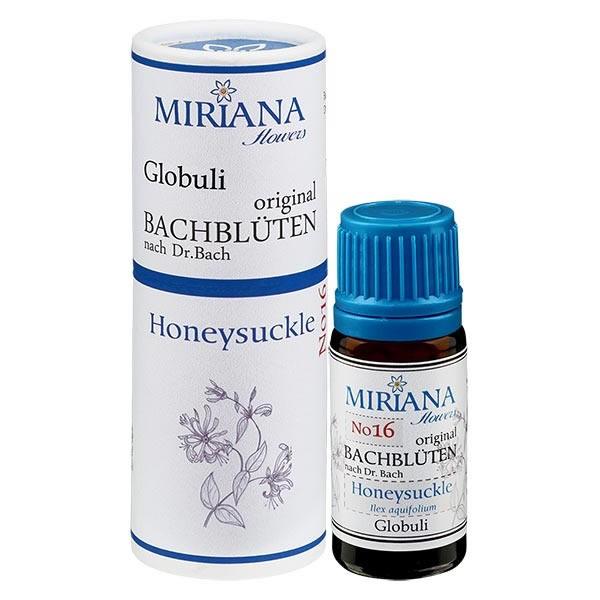 Honeysuckle Bachblüten Globuli (Jelängerjelieber) 10g