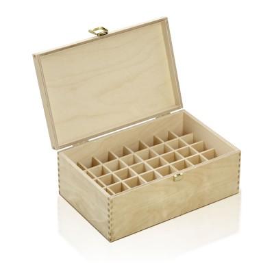 Holzbox Birkenholz für 10ml Flaschen