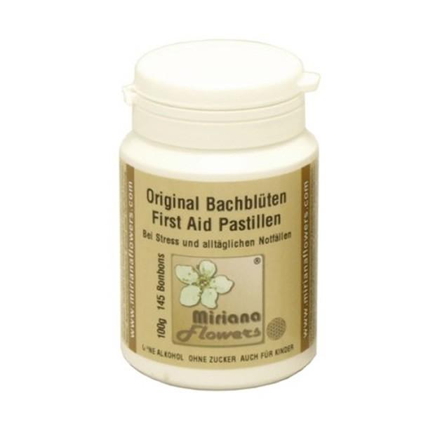 100g Bachblüten Pastillen Kapselbox